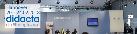 Didacta Bildungsmesse, Hannover 20. - 24.02.2017